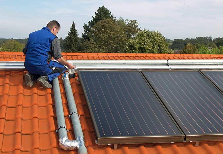 Solar Label für Kollektoren